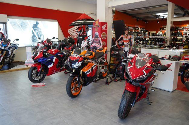 Lancement de la location de moto